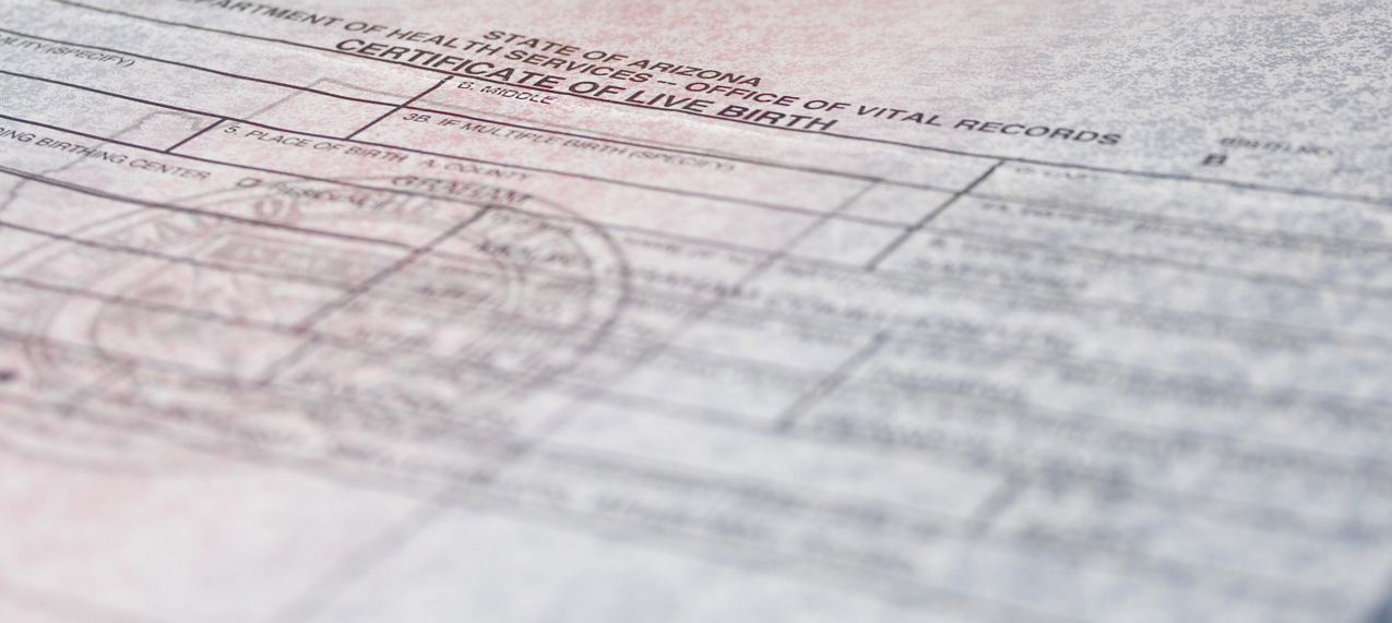 Birth / Death Certificates